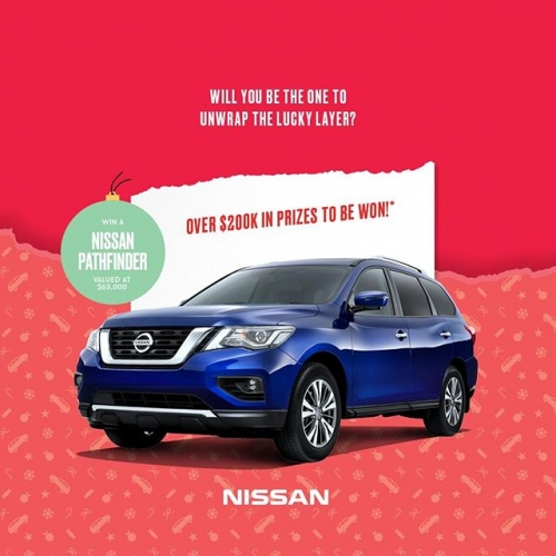 Have yourself a Merry Little Christmas when you shop with us this December 🎄We're giving away a @NissanAustralia Pathfinder and daily instant prizes – find out how you can win when you visit us this Christmas