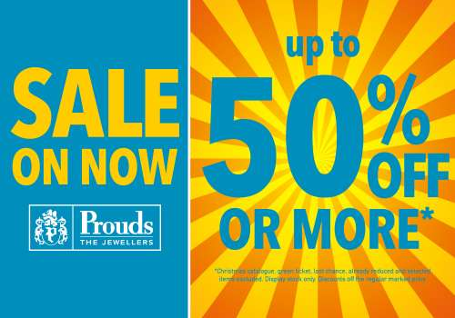 Prouds The Jewellers | Sale on now!