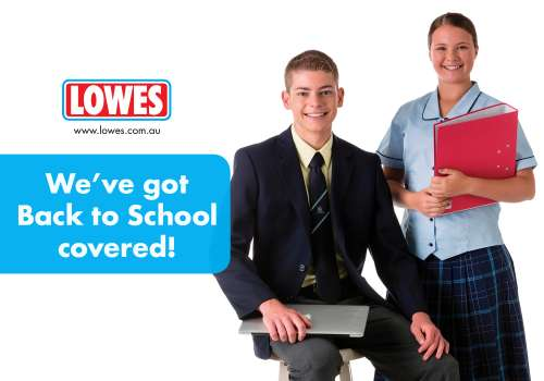 Lowes has all your Back to School needs sorted