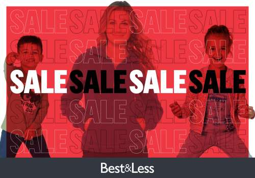 Stock up on essentials at Best&Less during their Mid Year Sale