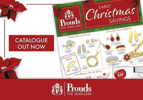 Prouds Early Christmas Savings Catalogue